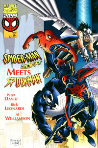 Spidey meets Spidey was okay but not critical